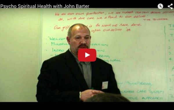 Psycho Spiritual Health with John Barter
