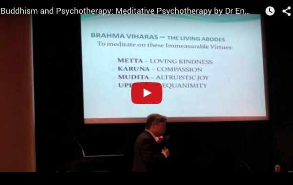 Buddhism and Psychotherapy: Meditative Psychotherapy
